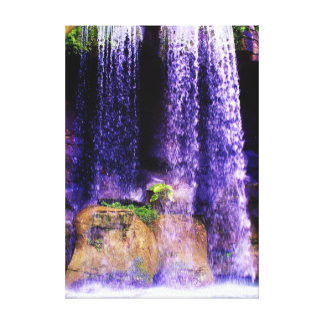 滝の驚異 キャンバスプリント