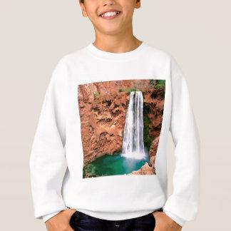 滝のHavasupai Mooniのグランドキャニオンアリゾナ スウェットシャツ