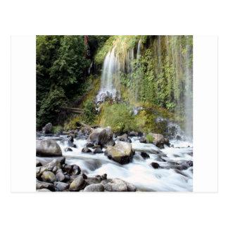滝のMossbraeの滝の流れ ポストカード