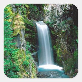 滝クリスティーンレーニア山 スクエアシール