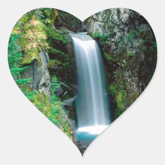 滝クリスティーンレーニア山 ハートシール