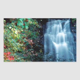 滝公園 長方形シール