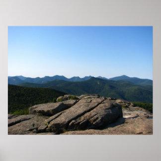 滝山、Adirondacks ポスター