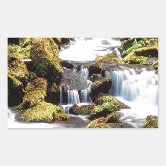 滝3の姉妹の荒野Willamette 長方形シール