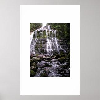 滝、アデレード、南オーストラリア ポスター