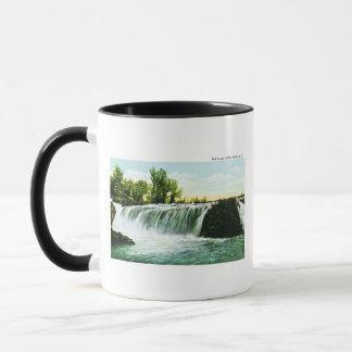滝、スーフォールズ、サウスダコタ マグカップ