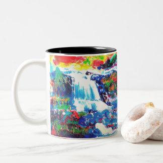 滝 ツートーンマグカップ