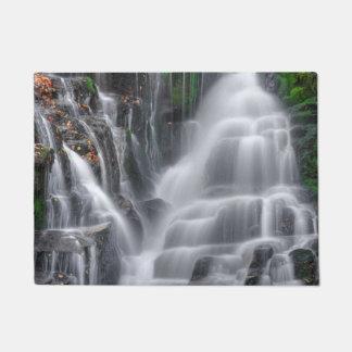 滝 ドアマット