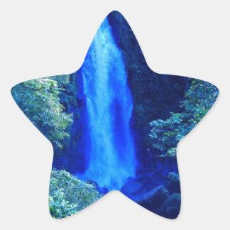 滝 星シール