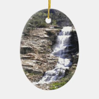 滝Lamoille セラミックオーナメント