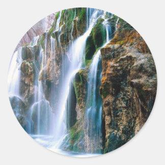 滝sticker2 ラウンドシール