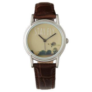 滞在のはえ 腕時計
