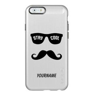 滞在のクールでカスタムなケース INCIPIO FEATHER SHINE iPhone 6ケース