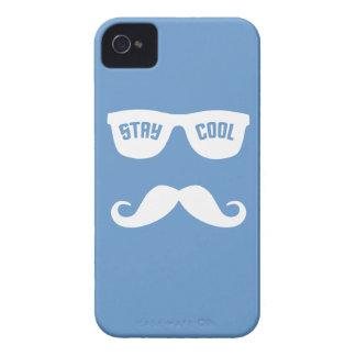 滞在のクールでカスタムなブラックベリーの箱 Case-Mate iPhone 4 ケース