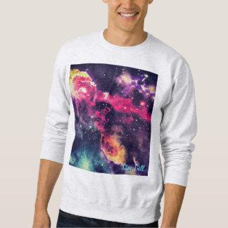 滞在のトリルの銀河系の版画コレクションの丸首 スウェットシャツ