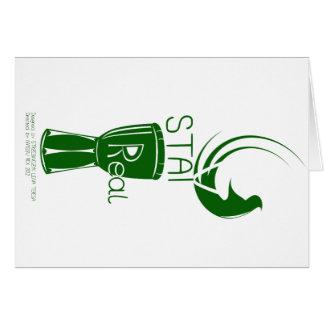 滞在の実質の緑 カード