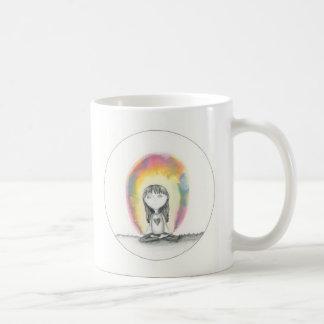 滞在の平静は、コーヒーを送ります コーヒーマグカップ