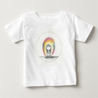 滞在の平静は、愛を送ります ベビーTシャツ