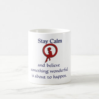 滞在の平静 コーヒーマグカップ
