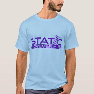 滞在の空電 Tシャツ
