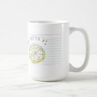 滞在の苦いマグ コーヒーマグカップ
