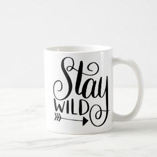 滞在の野生のコーヒー・マグ コーヒーマグカップ