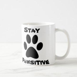 滞在のPawsitiveのマグ コーヒーマグカップ