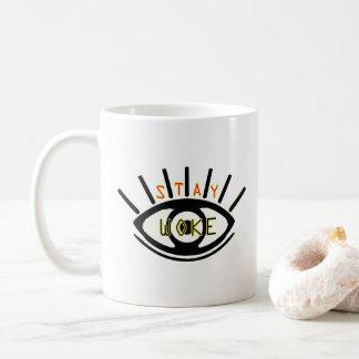 滞在はマグを目覚めさせました コーヒーマグカップ