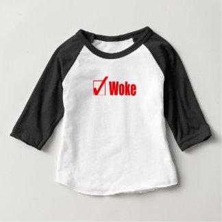 滞在は点検のポストを目覚めさせました ベビーTシャツ