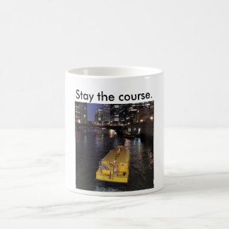 滞在を言うChicago川のタクシーのマグコース コーヒーマグカップ