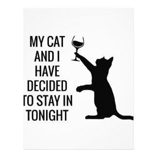 滞在今夜猫と レターヘッド