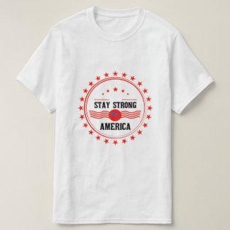 滞在強いアメリカの価値Tシャツ Tシャツ