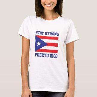 滞在強いプエルトリコ Tシャツ