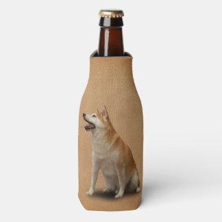 滞在SHIBA犬を坐らせて下さい ボトルクーラー