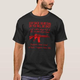 滞在Tシャツ100メートルのVNV/LV MCの Tシャツ