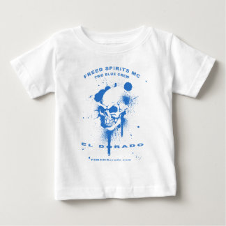 滴るペンキFSMCのElDoradoサポート衣服 ベビーTシャツ