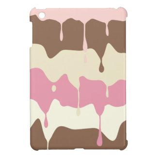 滴るNeapolitanアイスクリーム iPad Miniケース