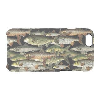 漁師のファンタジーのスポーツマンパターン クリアiPhone 6/6Sケース