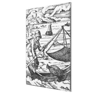 漁師 キャンバスプリント