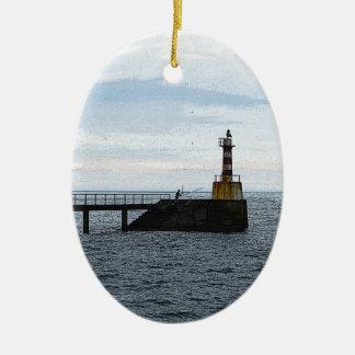 漁師 セラミックオーナメント