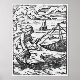 漁師 ポスター