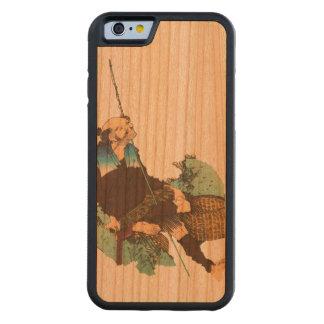 漁師 CarvedチェリーiPhone 6バンパーケース