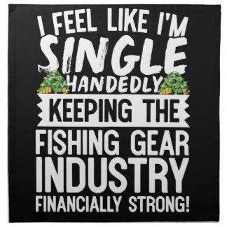 漁業を財政上強い保ちます ナプキンクロス
