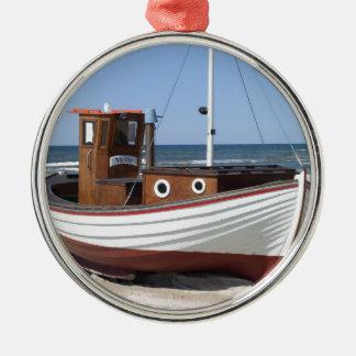 漁船のイメージ メタルオーナメント