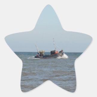 漁船の女の子Kayla 星シール