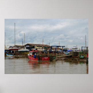 漁船のCrofterポスター ポスター