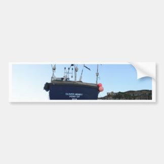 漁船オリバーヘンリー バンパーステッカー