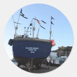 漁船オリバーヘンリー ラウンドシール