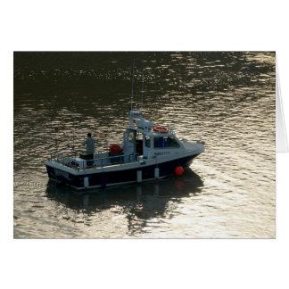 漁船、カーディフ湾 カード