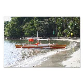 漁船 フォトプリント